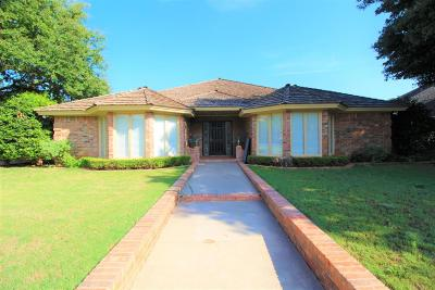 Lubbock Single Family Home For Sale: 5506 84th Street