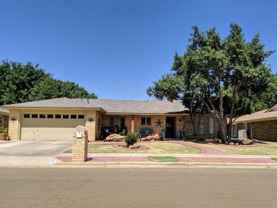 Lubbock Single Family Home Under Contract: 5526 78th Street
