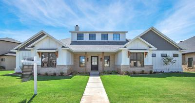 Lubbock Single Family Home For Sale: 4805 119th Street