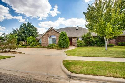 Lubbock Single Family Home For Sale: 4715 109th Street