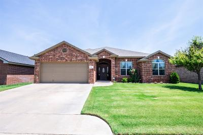 Lubbock Single Family Home For Sale: 9807 Justice Avenue
