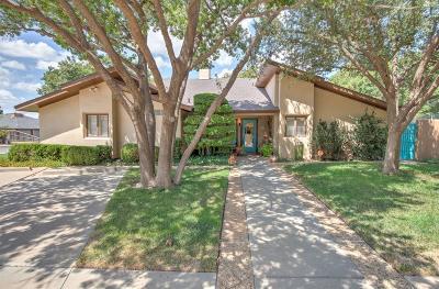 Lubbock Single Family Home For Sale: 9208 Lynnhaven Avenue