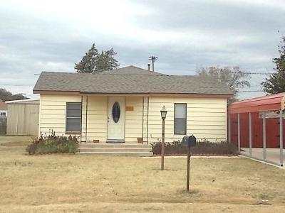 Abernathy Single Family Home Under Contract: 1505 Ave F