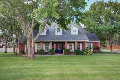 Lubbock Single Family Home Under Contract: 3514 152nd Street