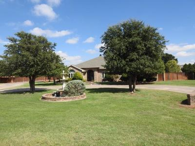 Lubbock Single Family Home For Sale: 15407 County Road 1860