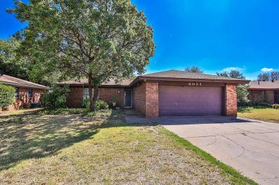 Lubbock Single Family Home For Sale: 6011 15th Street