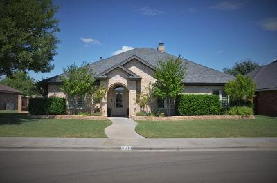 Lubbock Single Family Home For Sale: 4814 105th Street