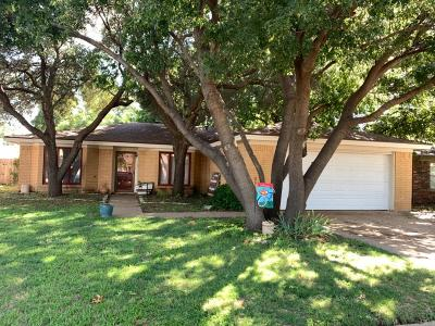 Lubbock Single Family Home For Sale: 4815 72nd Street
