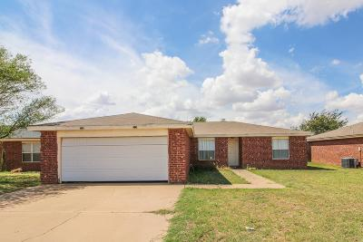 Wolfforth Single Family Home For Sale: 1815 Corpus Avenue