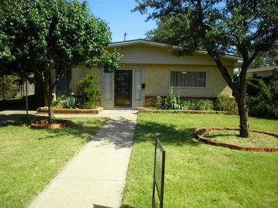 Lubbock Single Family Home For Sale: 3714 31st Street