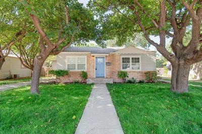 Lubbock Single Family Home For Sale: 3116 29th Street