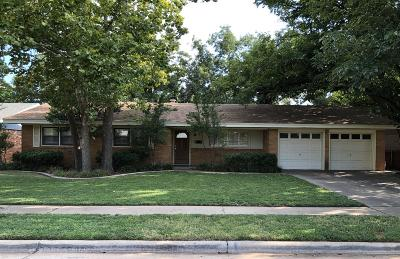 Lubbock Single Family Home For Sale: 3433 56th Street