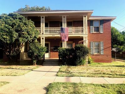 Lubbock Multi Family Home For Sale: 1808 14th Street