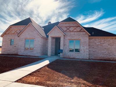 Lubbock Single Family Home For Sale: 3509 141st Street