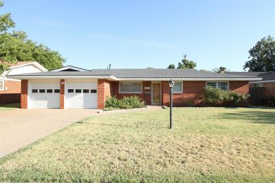 Lubbock Single Family Home For Sale: 2114 52nd Street