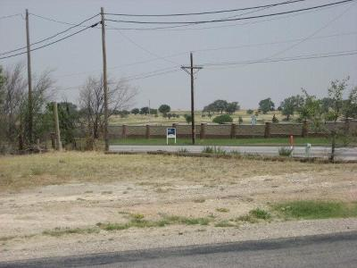 Lubbock Commercial Lots & Land For Sale: 9501 W 19th Street