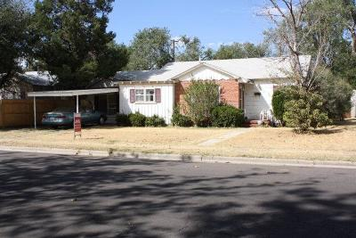 Lubbock Single Family Home Under Contract: 2708 29th Street