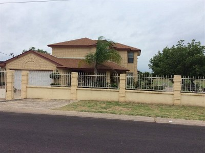 Laredo Single Family Home For Sale: 3314 S Buena Vista Ave