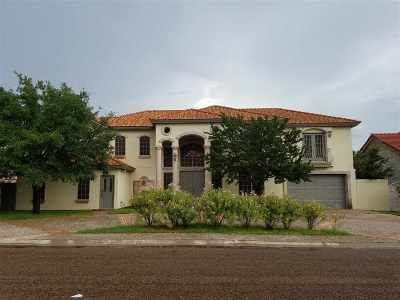 Laredo TX Single Family Home For Sale: $460,000