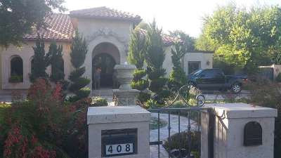 Laredo Single Family Home For Sale: 408 Chevy Chase Rd