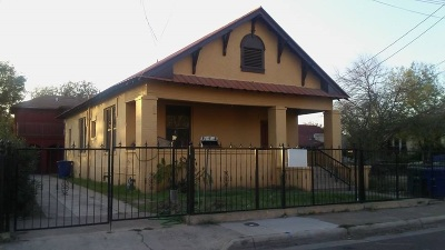 Laredo Single Family Home For Sale: 1510 Santa Maria Ave