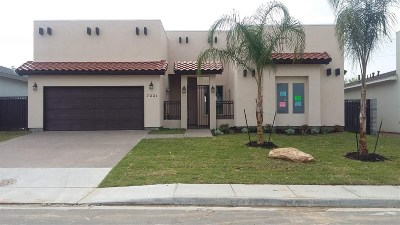 Laredo Single Family Home For Sale: 7221 Sylvia Plath Dr