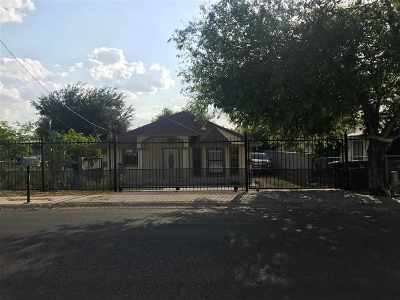 Laredo Single Family Home For Sale: 2206 Tilden Ave