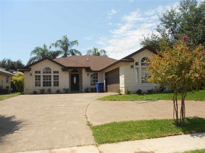 Laredo Single Family Home For Sale: 1711 Orange Blossom Lp