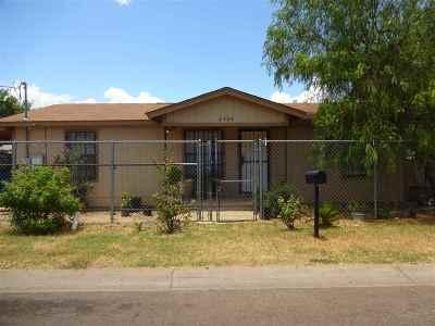 Laredo Single Family Home Option-Show: 2404 Monterrey Ave