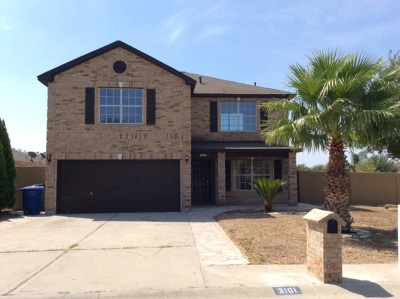 Laredo TX Single Family Home Option-Show: $219,000