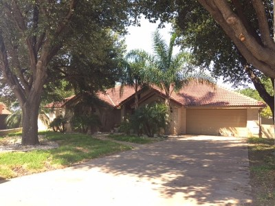 Laredo Single Family Home For Sale: 609 St James Crt