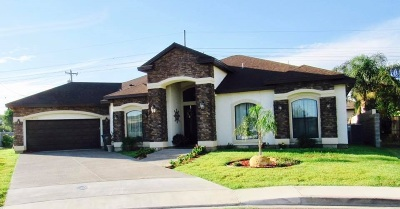 Laredo Single Family Home Back On Market: 8720 Picard Dr.
