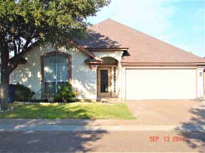Laredo Single Family Home For Sale: 303 Cinnamon Teal Lp