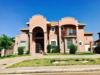 Laredo Single Family Home For Sale: 3704 Josefina Dr