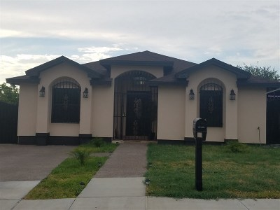 Laredo Single Family Home For Sale: 3308 Morelos Dr