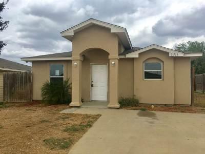 Laredo Single Family Home Active-Exclusive Agency: 2516 La Parra Ln.