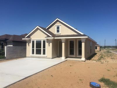 Laredo Single Family Home Option-Show: 4422 Wild Flower Ave