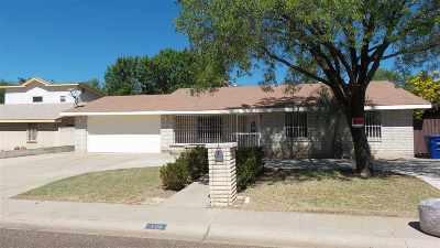 Laredo TX Single Family Home For Sale: $165,000