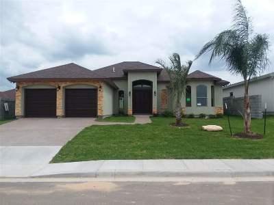 Laredo Single Family Home Active-Exclusive Agency: 7309 Thomas Harris Dr
