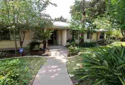 Laredo Single Family Home For Sale: 2019 Gustavus St