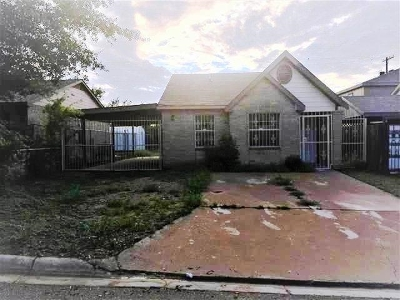 Laredo TX Single Family Home For Sale: $80,000