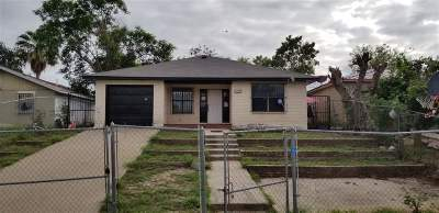 Laredo TX Single Family Home For Sale: $89,000
