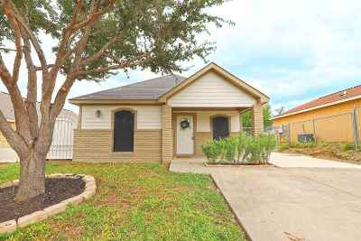 Laredo TX Single Family Home For Sale: $114,900