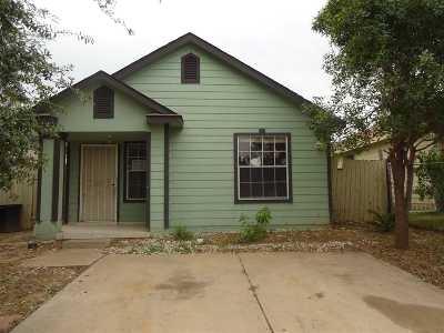 Laredo TX Single Family Home Active-Exclusive Agency: $66,000