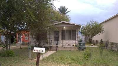 Laredo TX Single Family Home For Sale: $74,900