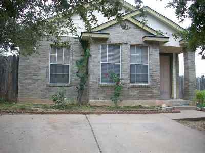 Laredo TX Single Family Home For Sale: $89,000