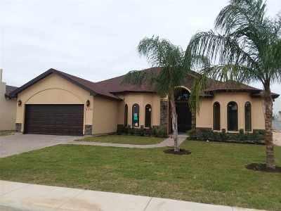 Laredo TX Single Family Home Active-Exclusive Agency: $315,000