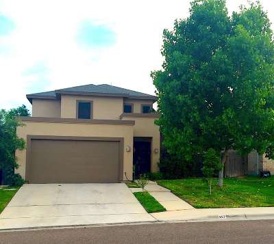 Laredo Single Family Home For Sale: 607 Ovenbird Thicket Dr