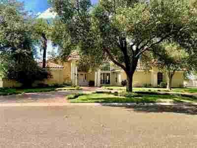 Laredo Single Family Home Back On Market: 1010 Burke Dr
