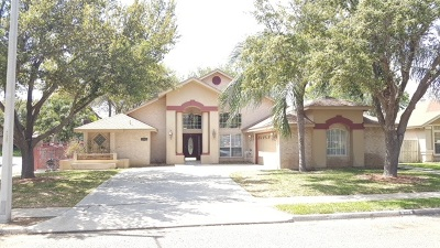 Laredo Single Family Home Active-Exclusive Agency: 8906 Jennifer Lp